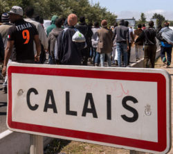 One day in the Jungle Camp in Calais – My impressions