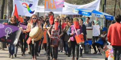 New Mama Cash and Urgent Action Fund Report: Standing Firm: Women- and Trans-Led Organisations Respond to Closing Space for Civil Society