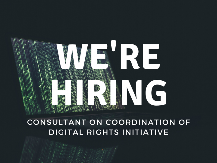 We're Hiring! Consultant on Coordination of Digital Power Initiative.