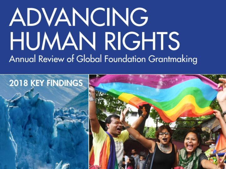 The Importance of Evidence: How funders and advocates are leveraging our Advancing Human Rights research